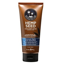 Earthly Body EB Hemp Seed Oil Lotion 7oz Moroccan Nights