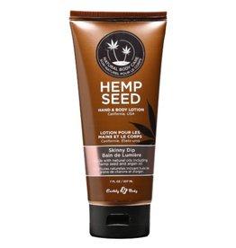 Earthly Body EB Hemp Seed Oil Lotion 7oz Skinny Dip