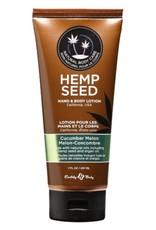 Earthly Body EB Hemp Seed Oil Lotion 7oz Cucumber Melon