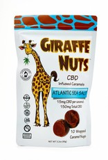 Giraffe Nuts Giraffe Nuts 150mg CBD Atlatic Sea Salt - Caramels