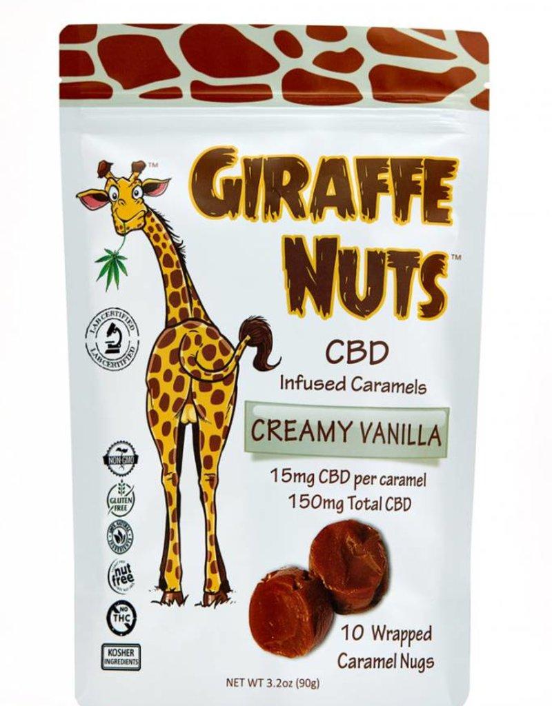 Giraffe Nuts Giraffe Nuts 150mg CBD Creamy Vanilla - Caramels
