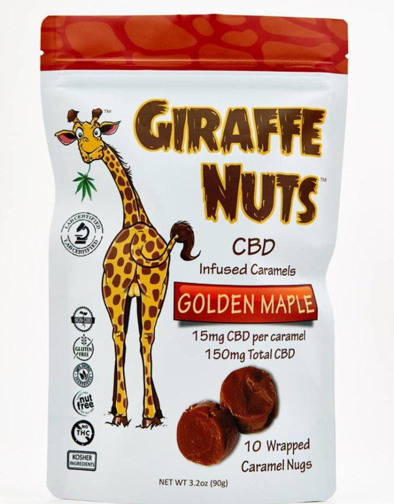 Giraffe Nuts Giraffe Nuts 150mg CBD Golden Maple - Caramels