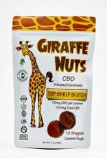 Giraffe Nuts Giraffe Nuts 150mg CBD Top Shelf Scotch - Caramels
