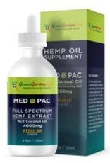 Green Garden Gold Green Garden Gold MCT 4000MG 4oz CBD Oil Regular