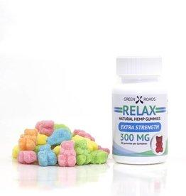 GWR Pharmaceuticals Green Roads 300mg CBD (10mg Each) 30 Ct Relax Gummies