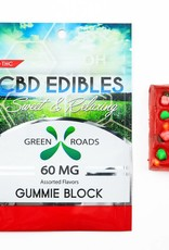 GWR Pharmaceuticals Green Roads 60mg CBD Gummie Block