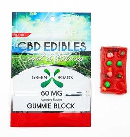 GWR Pharmaceuticals Green Roads 60mg CBD Gummie Block