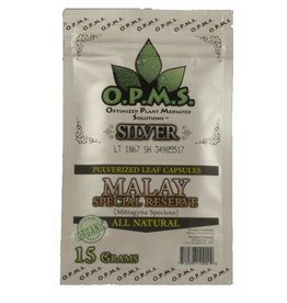 OPMS OPMS Silver Malay 15g, 30 Capsules