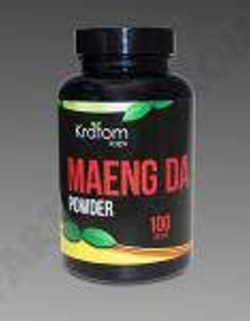 Kratom Kaps Kratom Kaps Maeng Da 100g Powder Bottle