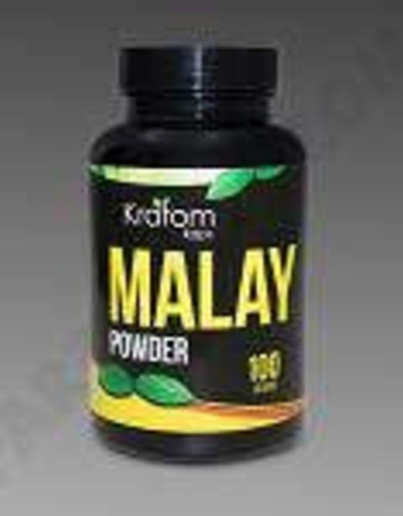 Kratom Kaps Kratom Kaps Malay 100g Powder Bottle