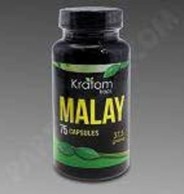 Kratom Kaps Kratom Kaps Malay 37.5g 75ct Bottle