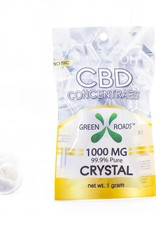 GWR Pharmaceuticals Green Roads 1000mg CBD - 1 Gram (99.9% Pure) Dab Crystal