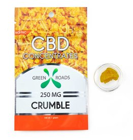 GWR Pharmaceuticals Green Roads 250mg CBD - 1 Gram Crumble