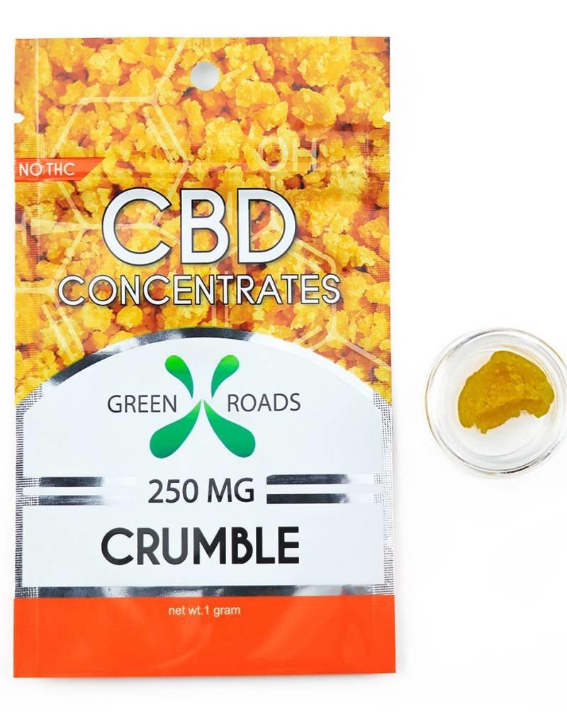 GWR Pharmaceuticals Green Roads 250mg CBD - 1 Gram Crumble