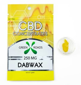 GWR Pharmaceuticals Green Roads 250mg CBD - 1 Gram Dab Wax