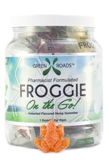 GWR Pharmaceuticals Green Roads 25mg CBD Frog On The Go Single