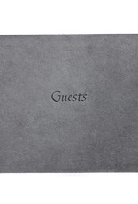 Oblation Papers & Press hardbound guest books - charcoal coptic guest book