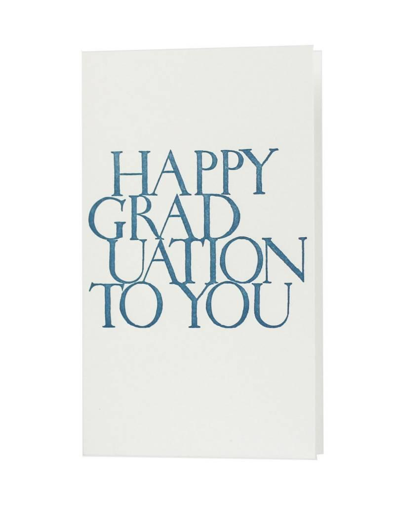 Oblation Papers & Press stonecarved greetings - graduation