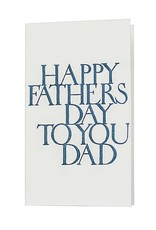 Oblation Papers & Press stonecarved greetings - father's day