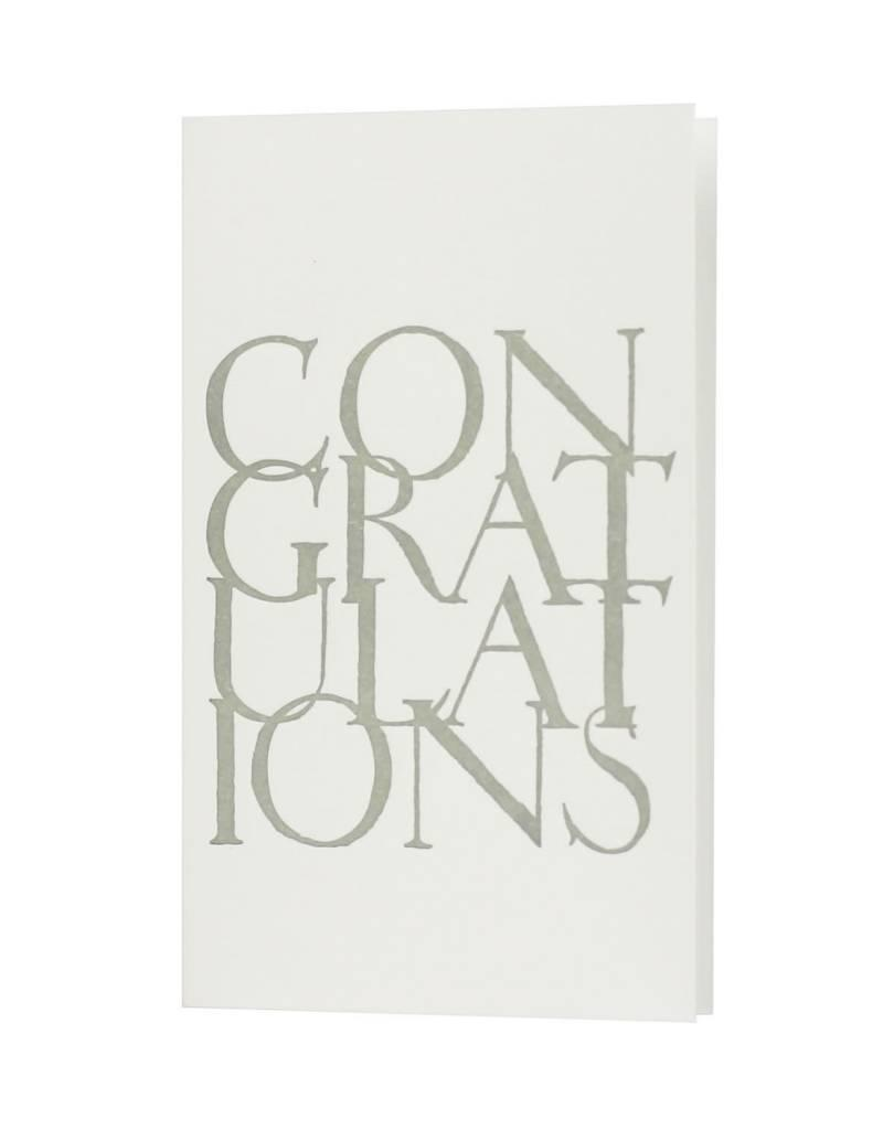 Oblation Papers & Press stonecarved greetings - congratulations