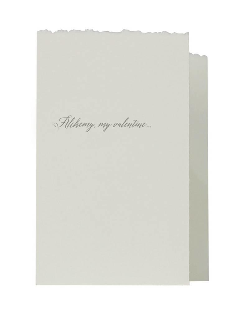 Oblation Papers & Press accordian fold - valentine