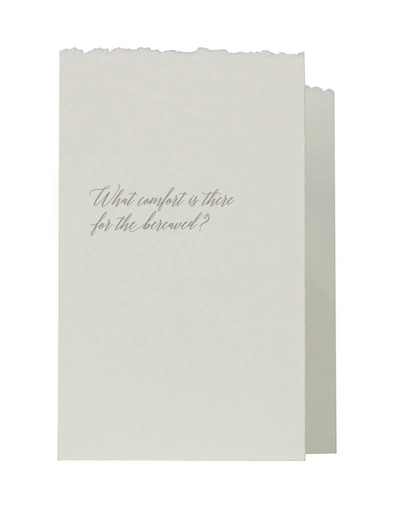 Oblation Papers & Press accordian fold notes - bereaved