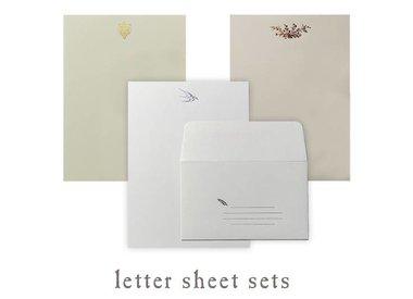 letter sheet sets