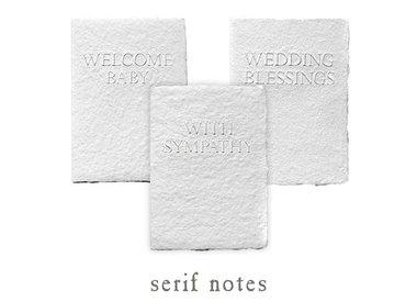 serif notes