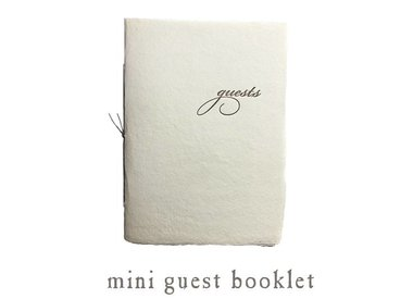 mini guest booklet