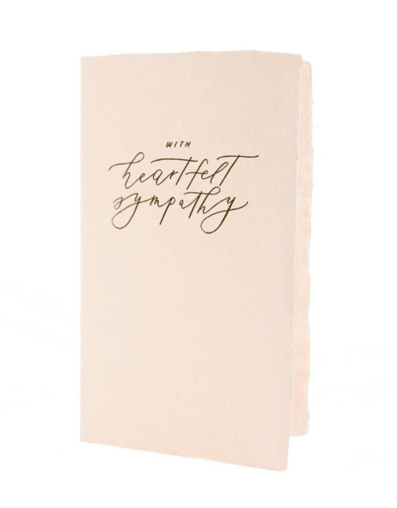 Oblation Papers & Press calligraphy notes - sympathy