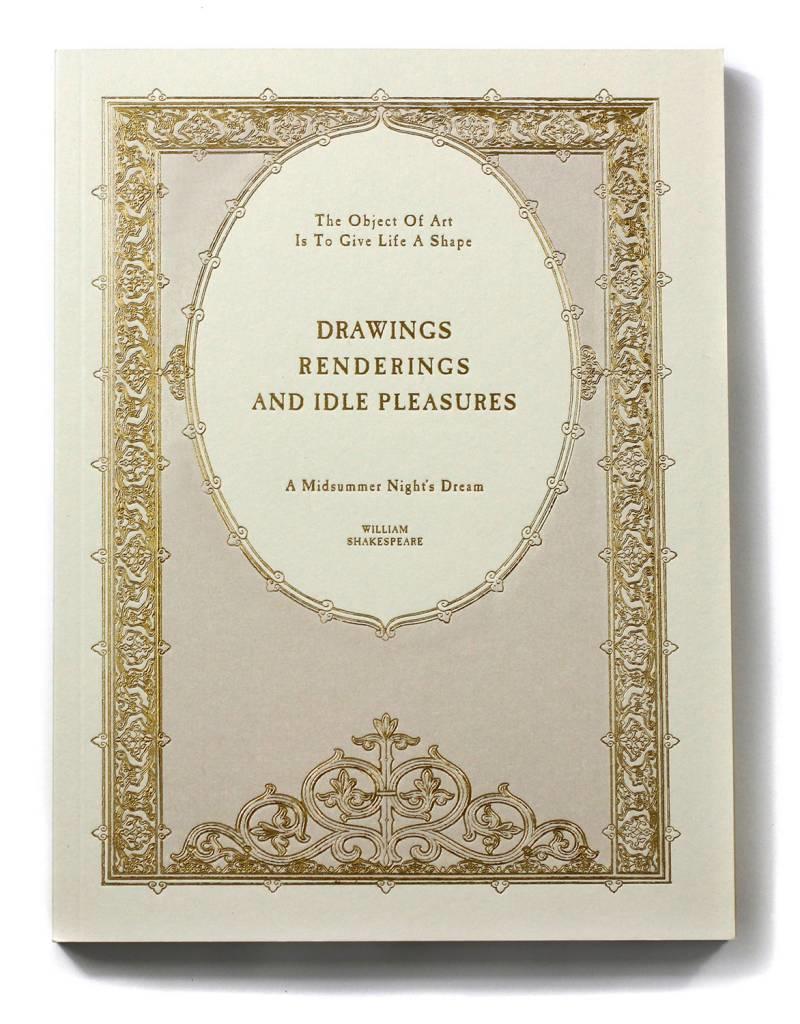 Oblation Papers & Press journals & sketchbooks - drawings, renderings, and idle pleasures