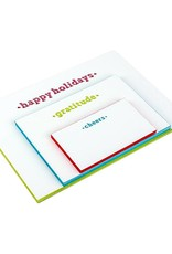 Oblation Papers & Press painted edge cards - holidays