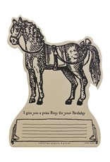 Oblation Papers & Press tokens - pony