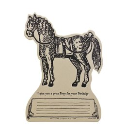 Oblation Papers & Press TOKEN-Pony