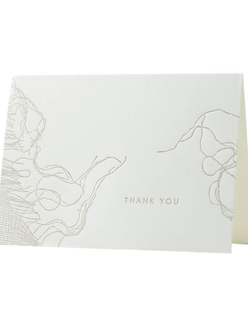 Oblation Papers & Press thank you notes - woven