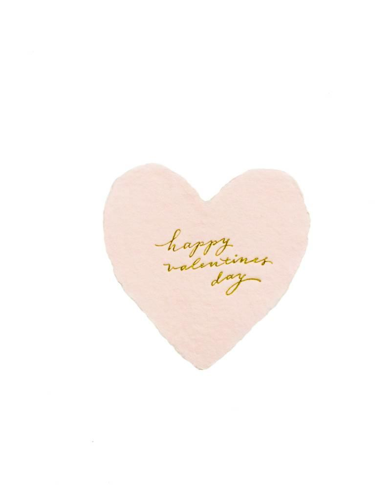 Oblation Papers & Press foiled petite hearts - valentine