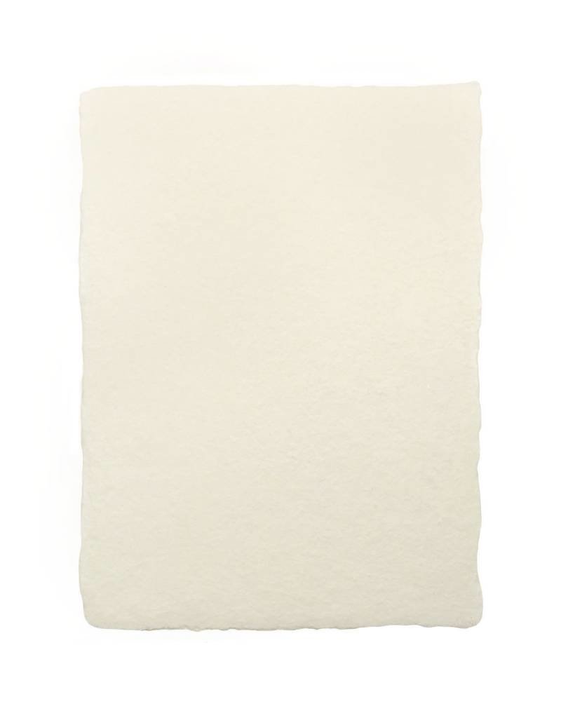 handmade paper - 4bar cream