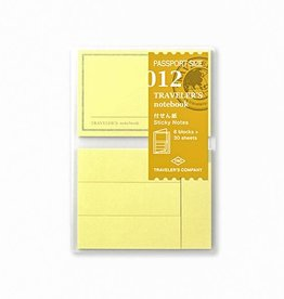 Traveler's Company Refill Sticky Notes Passport 012