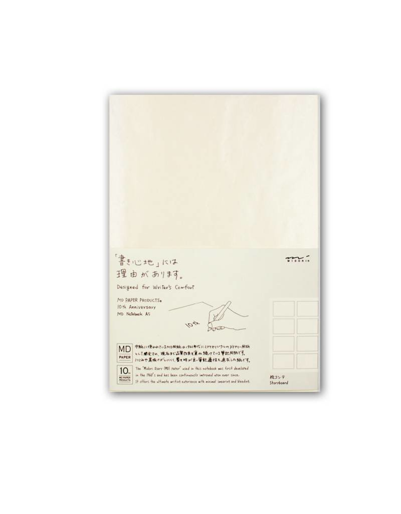 Midori MD Idea Diary - A5 Story Board