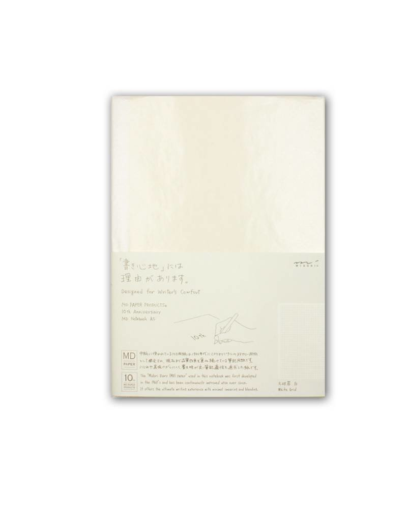 Midori MD Idea Diary - A5 White Grid