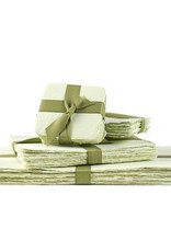 Oblation Papers & Press discontinued handmade paper- green