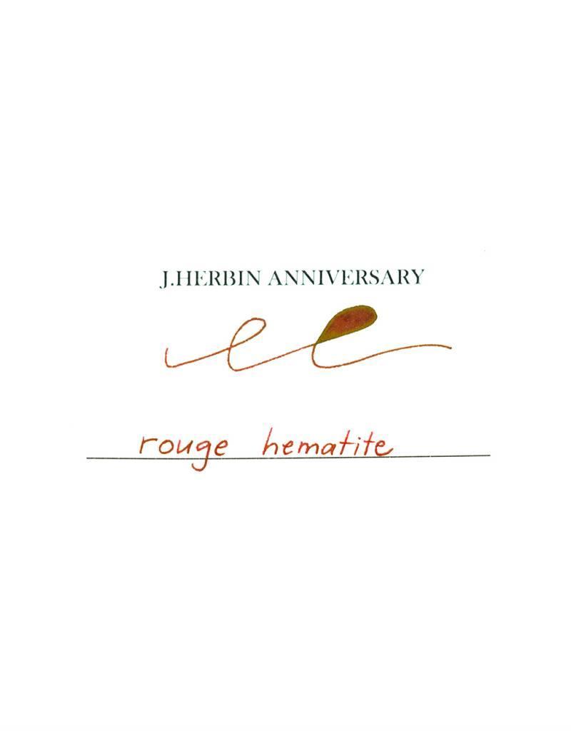 J. Herbin JH 50 ML Anniversary Ink Rouge Hematite