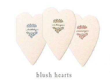 blush hearts