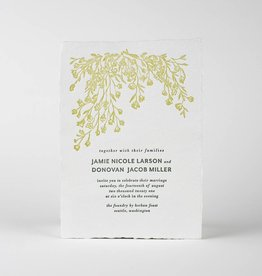 Oblation Papers & Press Jamie Invitation
