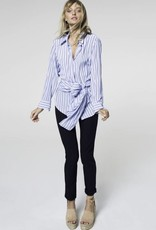MELA PURDIE SOFT SHIRT WHITE POET