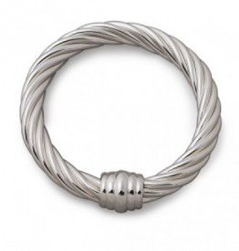 PLAIN TWISTED  BANGLE S/S