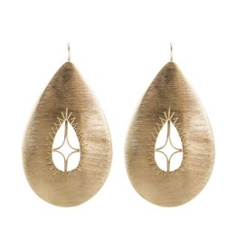 ALEXA FILIGREE EARRINGS GOLD