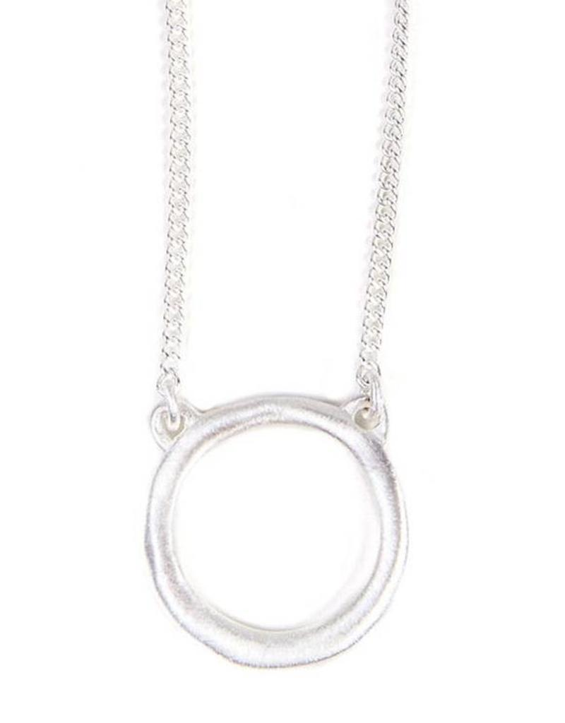 ALEXA INFINITE NECKLACE SILVER