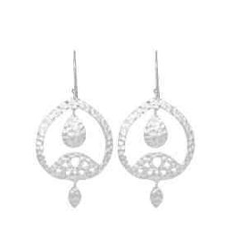 DOMINIQUE STATEMENT EARRING SILVER