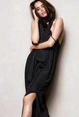 MELA PURDIE CRYSTAL MAXI DRESS BLACK